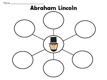 President's Day Thinking Maps