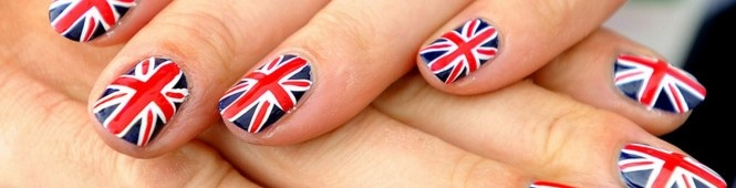 Nailed It! Team GB Flaunt their Patriotic Polish via @urcoffeebreak