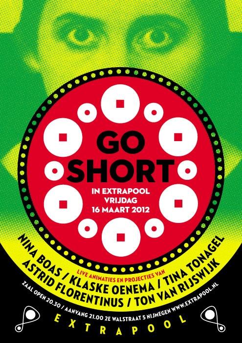Go Short#extrapool #poster #redbol