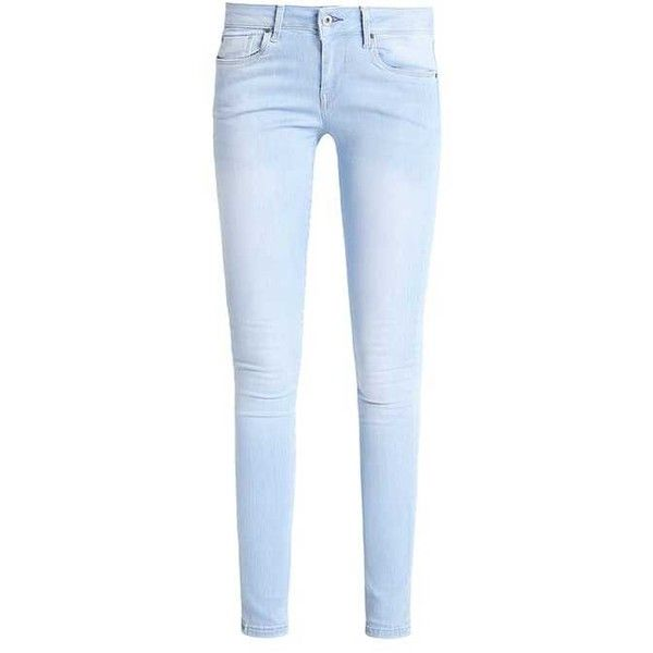 SOHO Jeans Skinny Fit ma6 ($97) ❤ liked on Polyvore featuring jeans, pants, bottoms, pantalones, skinny leg jeans, blue jeans, blue skinny jeans, super skinny jeans and skinny fit jeans