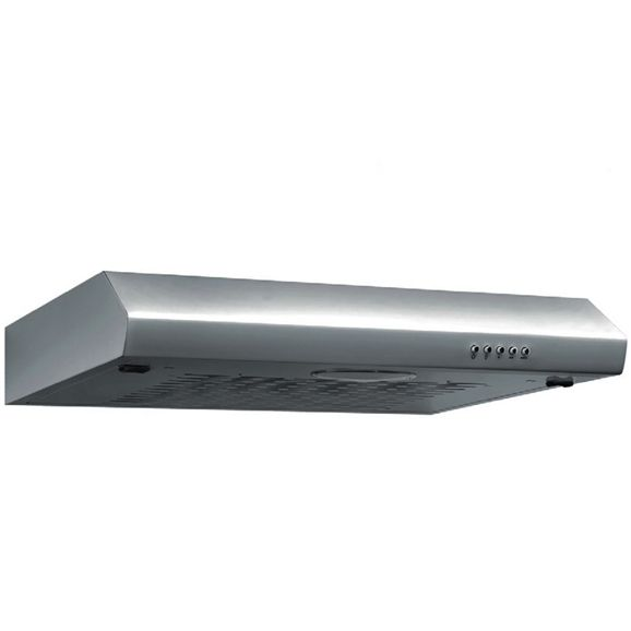 SIA VI161SS 60cm Visor Cooker Hood Kitchen Extractor Fan in Stainless Steel