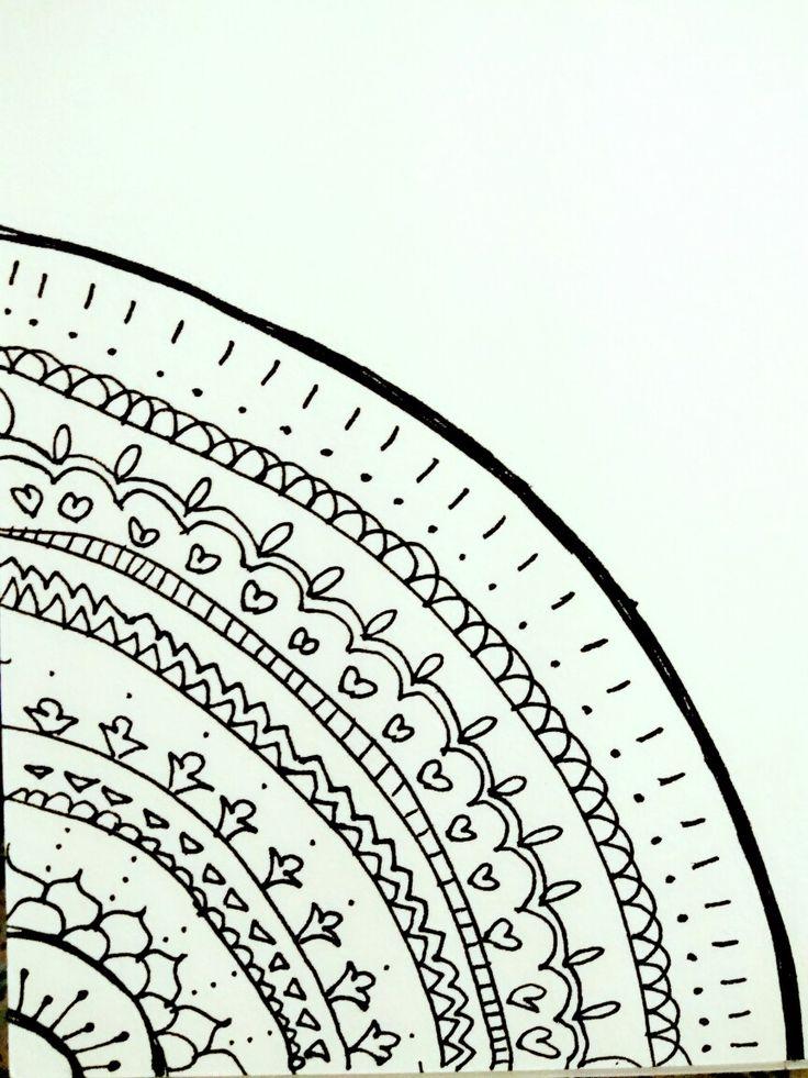 My corner Mandala try out