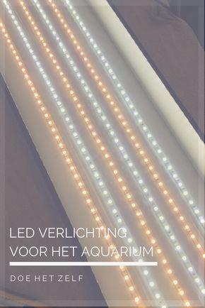 Doe het zelf: LED aquarium lichtkap | zelf doen | Pinterest ...