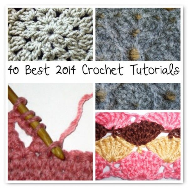 From CrochetConcupiscence.com I found an INCREDIBLE collection of tutorials! ENJOY!  http://www.crochetconcupiscence.com/nl/2014/07/best-2014-crochet-tutorials/