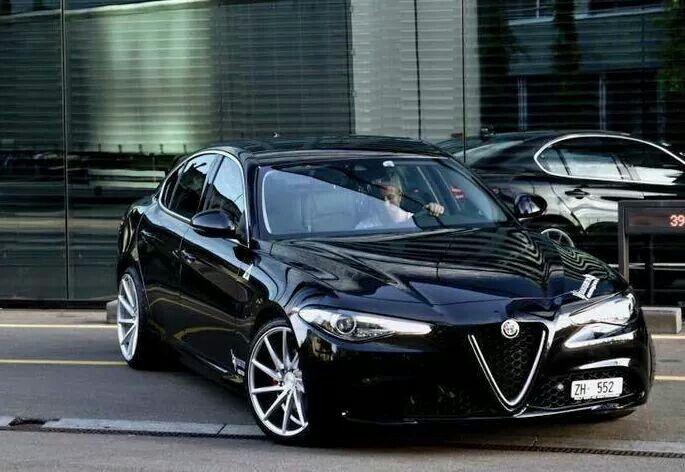 Alfa Romeo Giulia #alfaromeoquadrifoglio