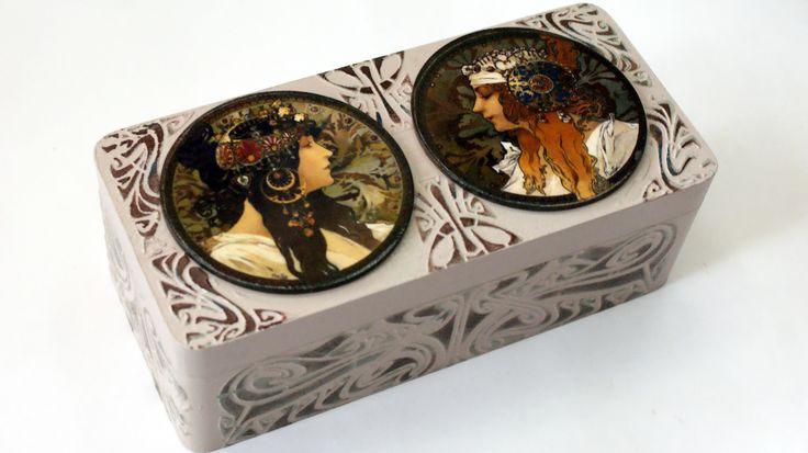"""Коробка для чайных пакетиков """"Византийки"""" Автор Елена Яшина"""