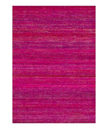 Take a look at this Fuchsia Resama Rug by Loloi Rugs on #zulily today!