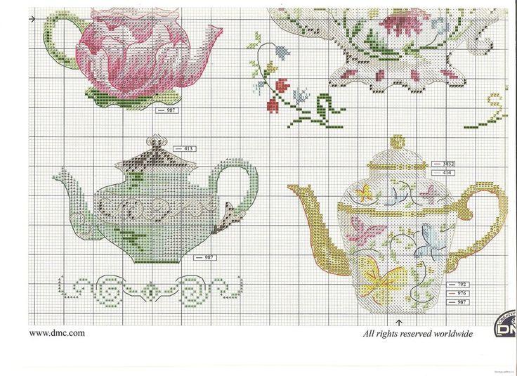 DMC Passion des collections Les théières - tea pots collection PART 3