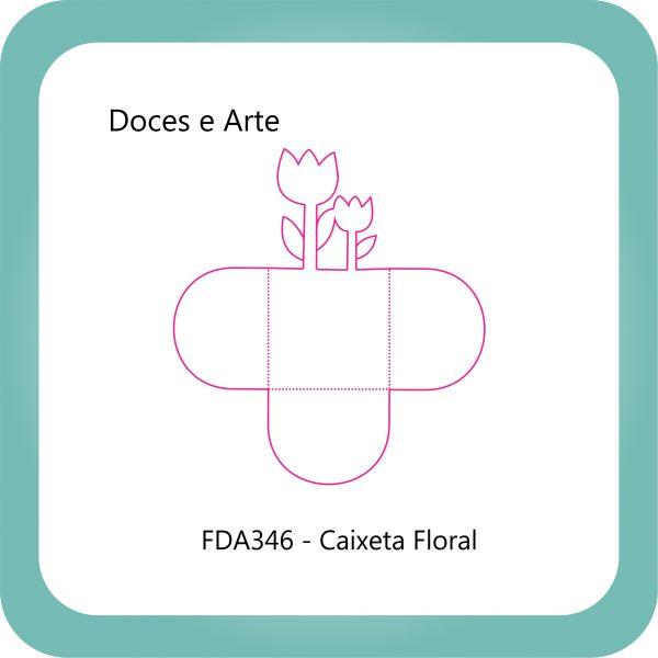 Faca Corte e Vinco FDA346 - Caixeta Flor
