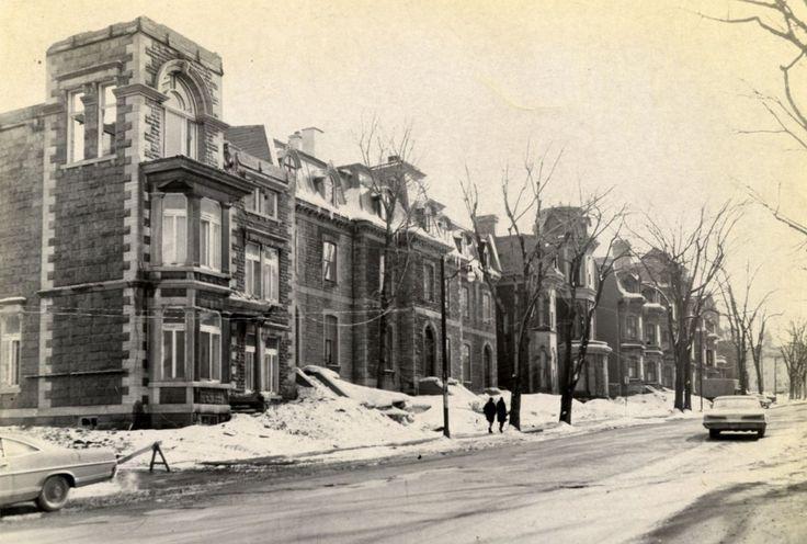 La Grande Allée (1916) – Vues anciennes de Québec