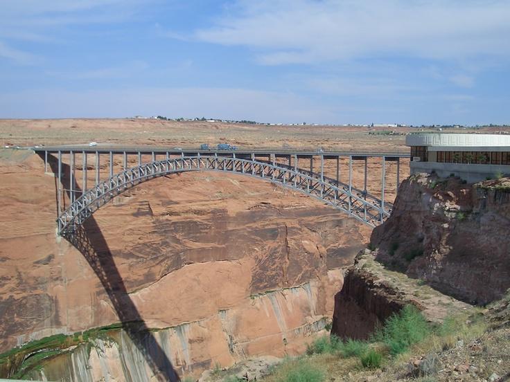Scary looking bridge near Paige, Arizona