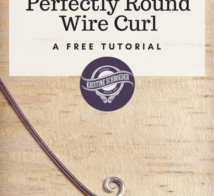 How To Make Round Wire Curls