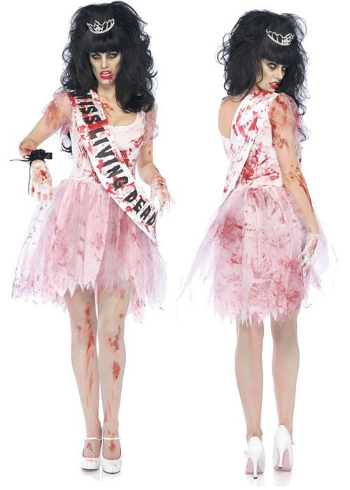 Zombie Prom Queen Costume                                                                                                                                                                                 More