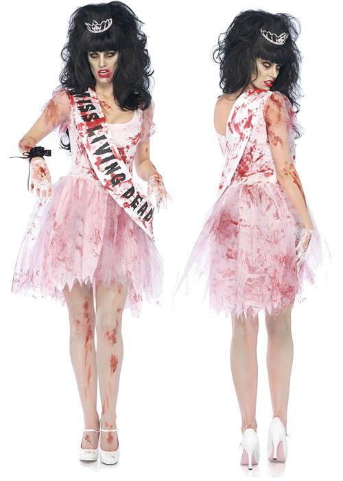 Zombie Prom Queen Costume                                                                                                                                                                                 More