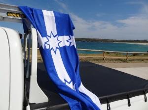 #Eureka Flag Towel