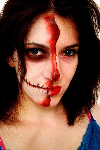 Halloween makeup tutorial #costume #halloween #skeleton