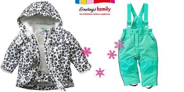Neu: Schneesachen für Kinder bei Ernsting's family ...