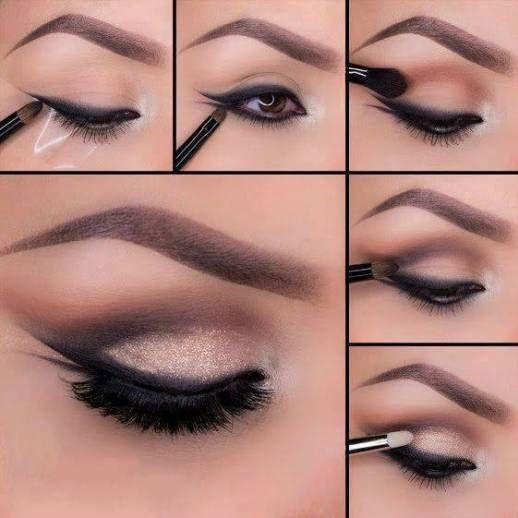 maquillaje para ojos para el dia