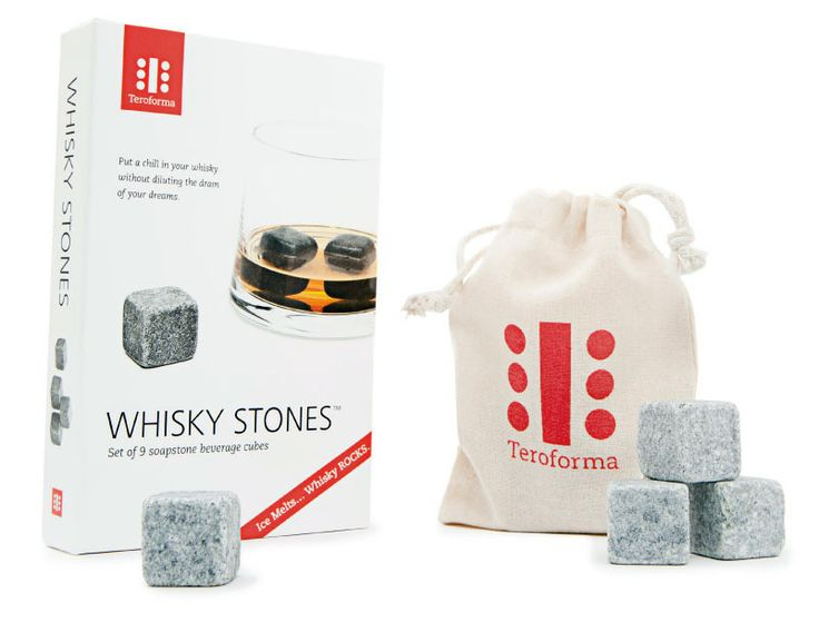 Meet our brands from the Mad Men #Groomingbox edition:  Teroforma   If you drink #Whiskey - do it in a good #Style! Groomingbox has prepared #Whisky Stones® Beverage Cubes - Set of 9 - for you. #Teroforma #whiskey #malegadgets #homeaccessories #accessories #gadget #perfectgift #mensstyle #whiskyrocks #whiskycubes #whiskystones #whiskyontherocks
