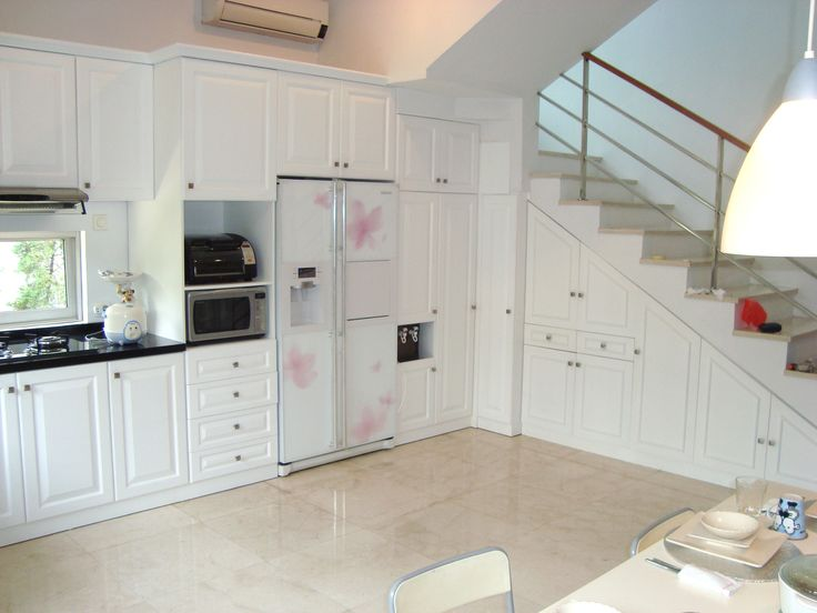American Style Kitchen Design By Simple Luxury Interior Surabaya Indonesia
