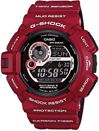 [Casio] Casio Watches G-shock Men in Rescue Red Mudman Gw-9300rd-4jf