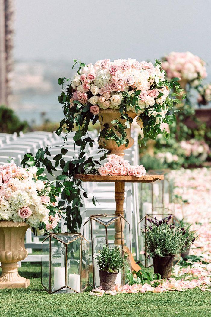 Breathtaking Floral Filled Laguna Beach Wedding From Jana Williams Photography Modwedding Laguna Beach Weddings Beach Wedding Flowers Beach Wedding