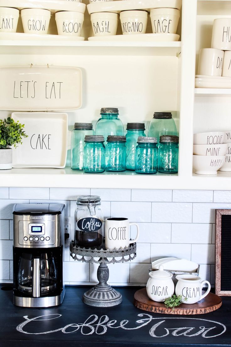 Quick Easy Coffee Bar Makeover Beauty For Ashes Small Space Diy Coffee Bar Best Kitchen Designs
