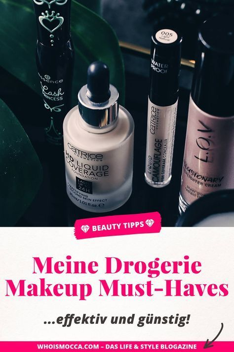 My 5 makeup must-haves from the drugstore