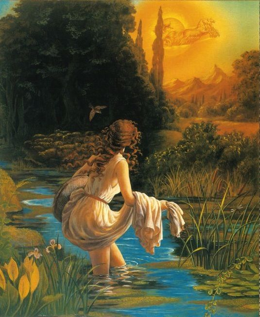 Image result for river God and psyche pic