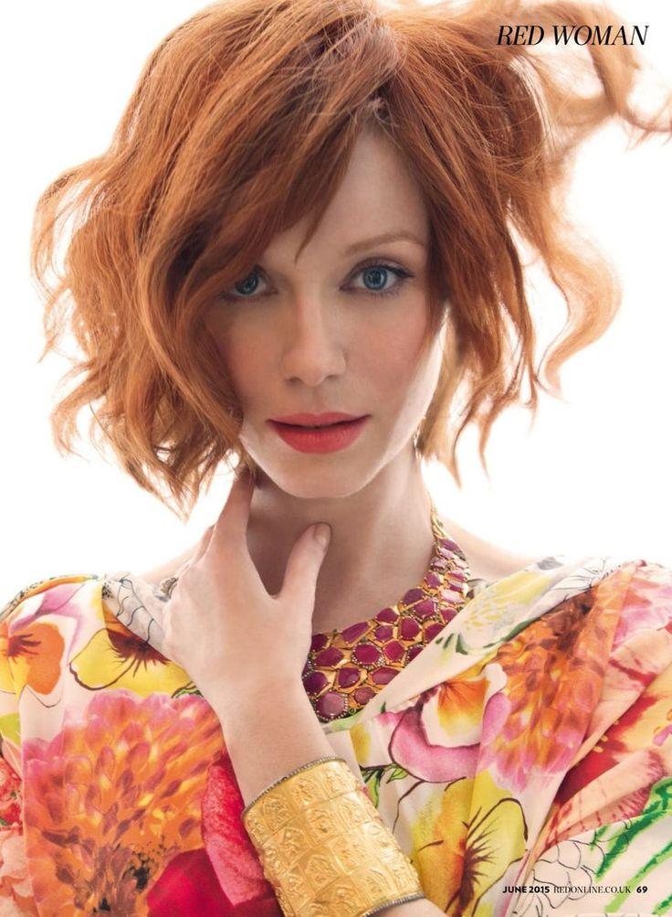 Celebrity, Fashion & Entertainment blog - Кристина Хендрикс для Red Magazine (UK) June 2015