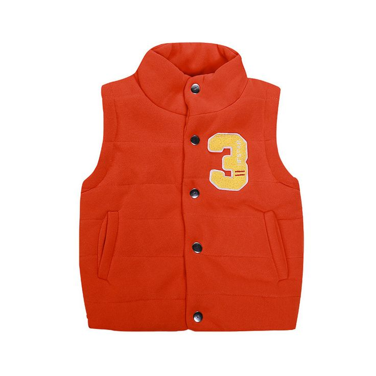 Find More Vests & Waistcoats Information about Kids High Quality Casual Winter Vest, Boys cotton Jacket Stand Collar Coat Girls Waistcoat Clothing Children Baby Vests Clothes,High Quality vest,China vest sweatshirt Suppliers, Cheap vest set from Witness the Growth of Children on Aliexpress.com