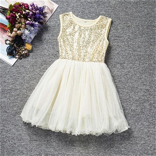 2-8 Yrs Christmas Dress Hot Sale Baby Girl Fairy Wedding Party Robe Princess Fille Dresses Girls Chothes Vestido For Child