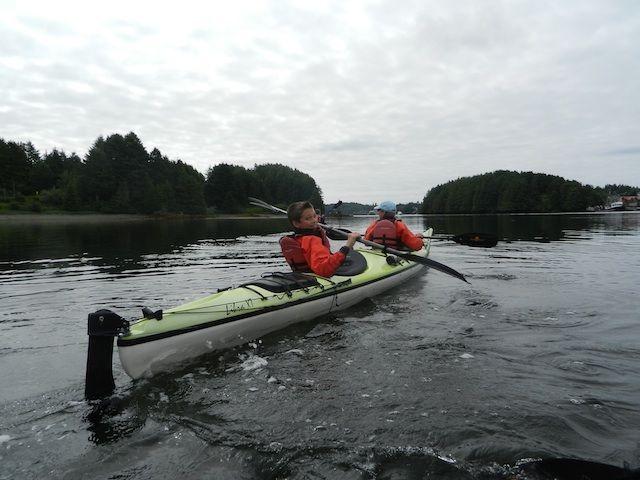 Kayaking Vancouver Island with Majestic Ocean Kayaking harbor tour