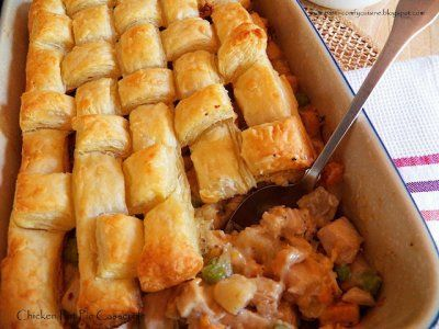Chicken and Sweet Potato Pot Pie | Food and drink that I love | Pinte ...