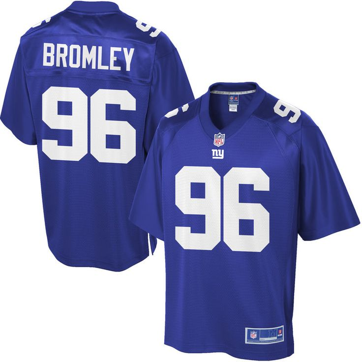 Youth New York Giants Jay Bromley NFL Pro Line Team Color Jersey