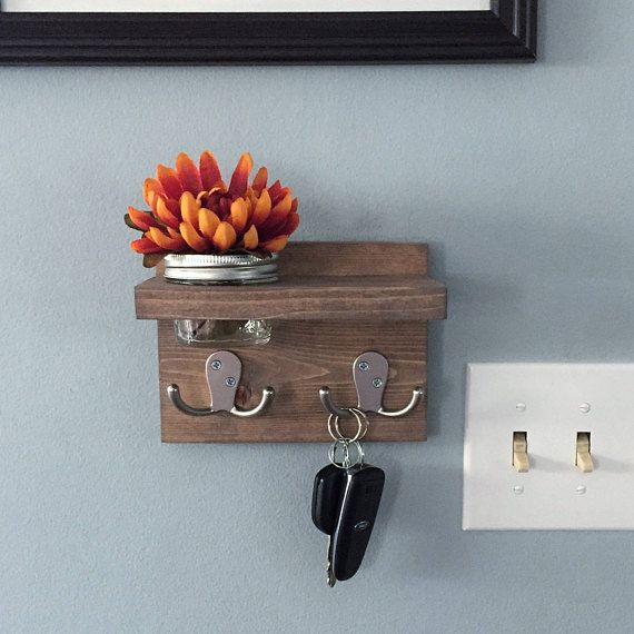 25 best ideas about key hooks on pinterest wall key for Mural key holder