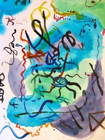 Kandinsky. Vasili Kandinski o Wassily Kandinsky fue un pintor ruso, precursor de la abstracción en pintura y teórico del arte, con él se considera que comienza la abstracción lírica.