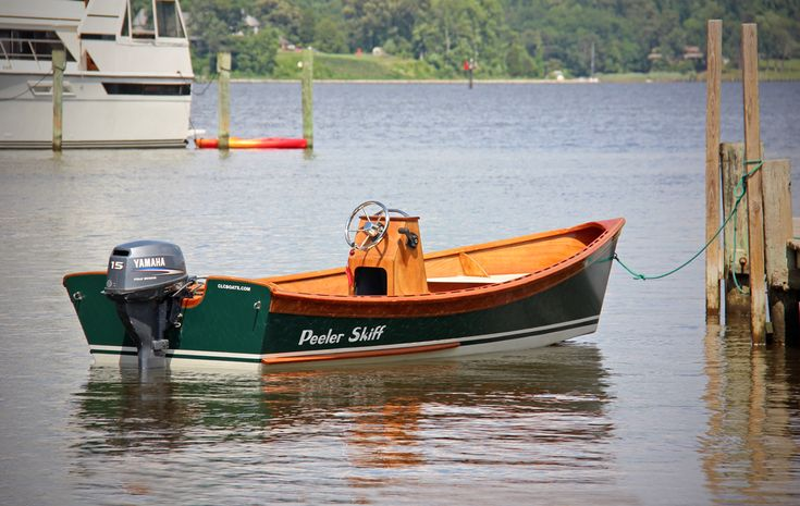 Peeler Outboard Power Skiff | CLC Peeler Power Skiff | Pinterest | Boating, Wooden boats and ...