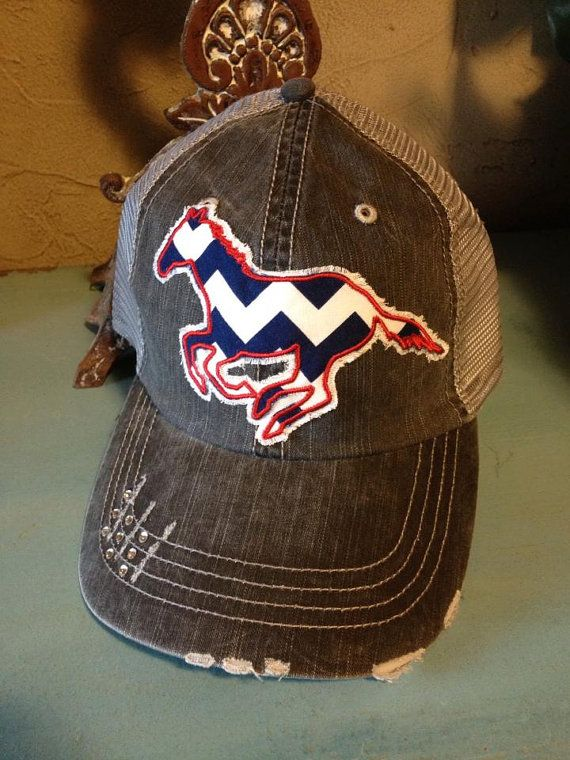 items similar mustang colt horse chevron baseball ladies trucker hat caps with bling womens