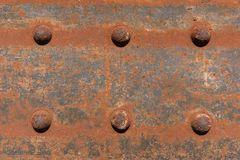 Старая заржаветая сталь - ржавая текстура металла/текстура ржавчины Стоковые Изображения