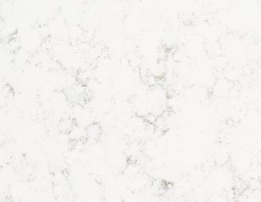 Verona Mist - essastone benchtops. ?Black Island cabinetry, rest white.