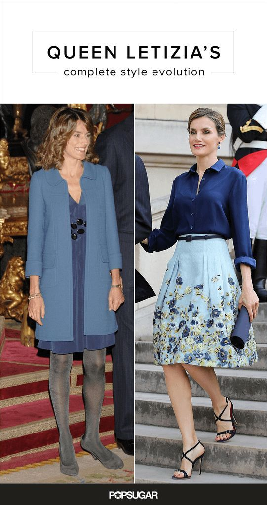 From her engagement to 2016, look back on Queen Letizia of Spain's impressice style evolution