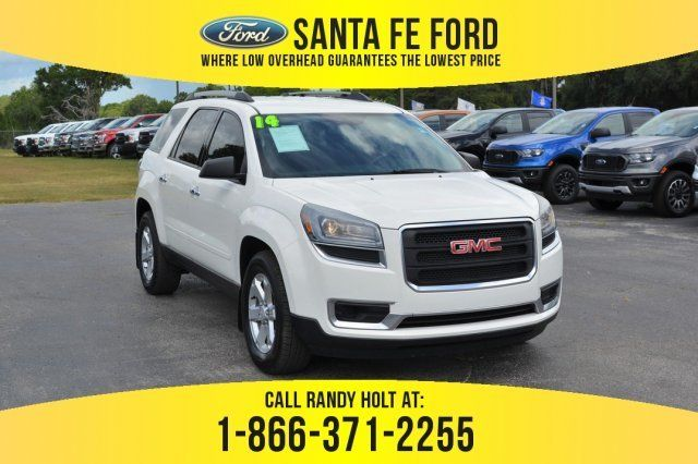 Used 2014 Gmc Acadia Sle Fwd Suv For Sale Gainesville Fl 39533p