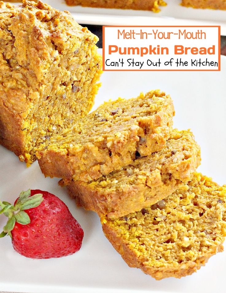Melt-In-Your-Mouth Pumpkin Bread | Can't Stay Out of the Kitchen it uses a coconut pudding mix.
