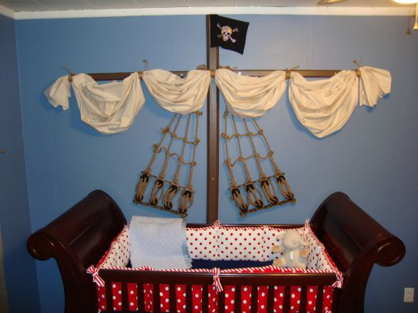 Pirate theme for baby boy