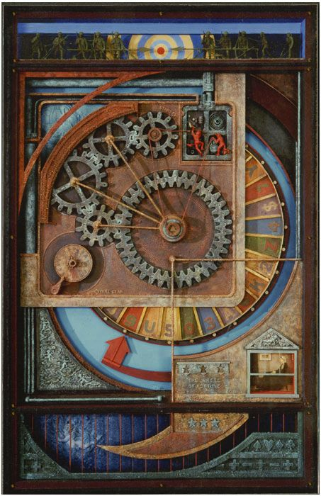 Ron Robertson, Assemblage artist.... I had the pleasure of studying under him at Santa Barbara City College