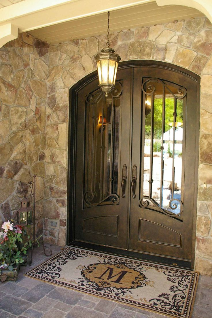 50 best images about ideas for the house on pinterest for Entrance double door designs for houses
