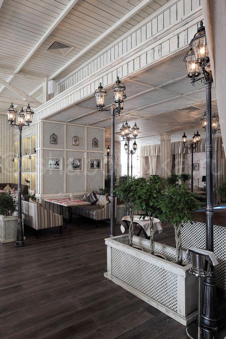 интерьерFlorentini - ресторана в стиле прованс, restaurant in country style