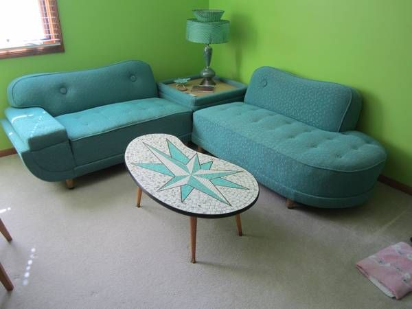Turquoise MidCentury Modern