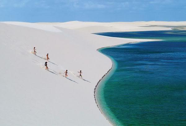 Un desierto único... Lencois Maranhenses, Brasil